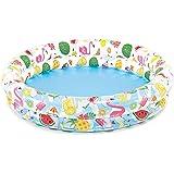 Inflatable Stars Kiddie 2 Ring Circles Swimming Pool