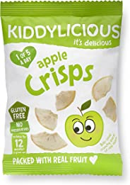 Kiddylicious Apple Crisp 96g (Pack of 8)
