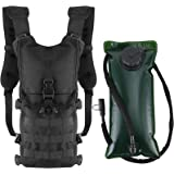 ProCase Assault Hydration Pack with 2L BPA Free Water Bladder, Lightweight Insulated Adjustable Water Backpack 1000D for Hiki