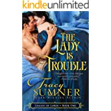 The Lady is Trouble: Steamy Victorian Paranormal Romance (League of Lords Book 1)