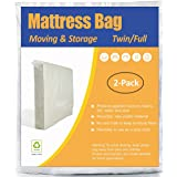 (Twin/Full) - ComfortHome Mattress Bag For Moving and Storage, Twin/Full Size, Waterproof, Dust Proof, Bed Bug Proof, Pack of