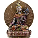 White Tara Buddhist Goddess of Compassion and Longevity Statue 6 inches