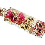 【Amazon.co.jp 限定】 日本製 ハーバリウム プリザーブドフラワーLira 高さ16.7cm 角瓶 (ガーベ…