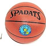MODELA バスケットボール 7号 6号 5号球 空気針付き 人工皮革 PU皮革 屋内&屋外用 バスケ