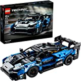 LEGO Technic McLaren Senna GTR 42123 Toy Car Model Building Kit; Build and Display an Authentic McLaren Supercar, New 2021 (8