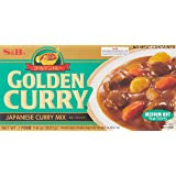 S&B Golden Curry Sauce Mix Medium Hot, 220g