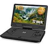 11.6インチ ポータブル ブルーレイプレーヤー ポータブルdvdプレーヤー 簡単操作で使いやすい! 首振り対応 BD/DVD/CD 再生可能 CPRM/VRモード SD/USB 対応 オリジナルマグネットシート付き