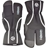 Domain Cycling Winter Bike Gloves Cycling Cold Weather Mountain Bicycle Split Finger Windproof Waterproof MTB