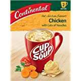 CONTINENTAL Cup-A-Soup | Chicken With Lots Of Noodles, 2 pack, 60g