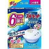 【まとめ買い】ブルーレットおくだけ トイレタンク芳香洗浄剤 詰め替え用 ブーケの香り 25g×6個