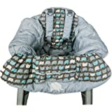 Playette Shopping Trolley and High Chair Cover Elephant, Multi