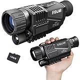 ESSLNB Night Vision Monocular 5X40 Night Vision Infrared IR Camera HD Digital Vision Scope Recording Image and Video Playback