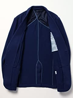 Seersucker Jersey Jacket 51-16-0224-012: Blue