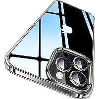 CASEKOO iPhone 13 Pro 用 ケース クリア 耐衝撃 米軍規格 SGS認証 ストラップホール付き 6…