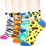 DearMy Women's Lovely Design Casual Cotton Crew Socks   Good for Gift Idea  One Size Fits All   Gifts for Women