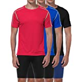 Cadmus Mens Sports Mesh Short Sleeve T-Shirt