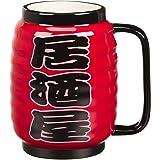 サンアート おもしろ食器 「 飲み会・忘年会・パーティー 」 居酒屋 ちょうちん マグカップ 500ml 赤 SAN3014-1