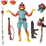 """Fortnite Legendary Series, Fishstick, 1 Figure Pack - 6"""" Articulated Action Figure - Includes Harvesting Tool, 3 Weapons, 1 B"""