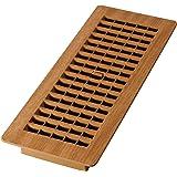 Decor Grates PL412-OC 4-Inch by 12-Inch (Duct Opening Measurements) Plastic Floor Register, Oak Caramel
