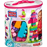 Mega Bloks Bausteinebeutel Pink (60 Teile)