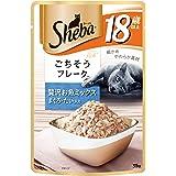 シーバ (Sheba) キャットフード リッチ 18歳以上 贅沢お魚ミックス まぐろ・たい入り 高齢猫用 35g×12個 (まとめ買い)