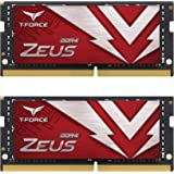 TEAMGROUP T-Force Zeus DDR4 SODIMM 32GB (2x16GB) 3200MHz (PC4-25600) 260 Pin CL16 Laptop Memory Module Ram - TTZD432G3200HC16