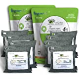 RegenerAir 8x200g Air Purifier Deodorizer Bags 100% Activated Bamboo Charcoal Deodorizer Odor Eliminator for Kitchens Bedroom
