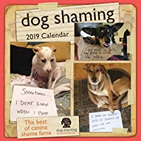 2019 Dog Shaming  Square Wall Calendar