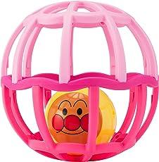 アンパンマン しゃかしゃかボール ピンク