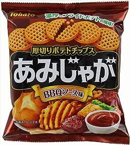 東ハト あみじゃがBBQソース味 60g×12袋