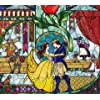 ディズニー - 『美女と野獣』ステンドグラス Android(960×854)待ち受け 123824