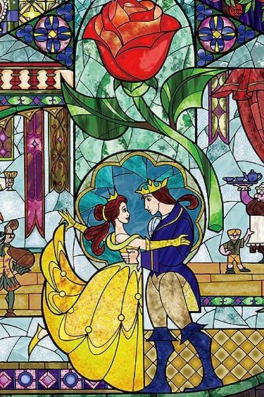 ディズニー  iPhone/Androidスマホ壁紙(640×960)-1 - 『美女と野獣』ステンドグラス