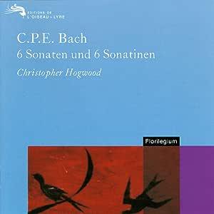 Cpe Bach;6 Sonatas&Sonatina