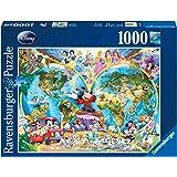 Ravensburger Disney World Map 1000pc Adult Puzzles
