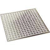 M-D Hobby & Craft Aluminum Hobby Sheet, 573-51, Silver, 12-x-12-Inch