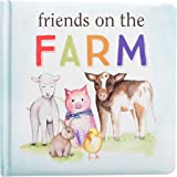 Kate & Milo Friends on The Farm Board Book for Babies, Fun with Farm Animals, Toddler or Baby Learning Book