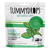 Natural Peppermint Tummydrops (Resealable Bag of 33 Individually Wrapped Drops) Certified Oregon Tilth Made with Organic Ingr