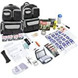 Emergency Zone 4 Person Urban Survival 72-Hour Bug Out/Go Bag | Perfect Way to Prepare Your Family | Be Ready for Disasters L