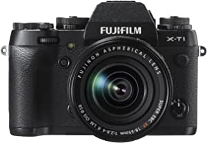 FUJIFILM ミラーレス一眼 X-T1 レンズキット ブラック F X-T1B/1855KIT