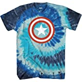 Marvel Captain America Men's 80's Captain America T-Shirt
