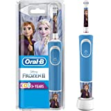 Oral-B Stages Power Kids Electric Rechargeable Toothbrush with Disney Frozen Characters, 1 Handle, 1 Brush Head, UK 2 Pin Plu