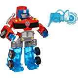 TRANSFORMERS Rescue Bots Energize - Optimus Prime Converting Robot Action Figure - Playskool Heroes - Kids Toys - Ages 3+