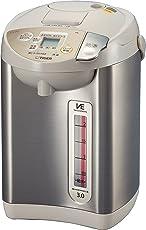 タイガー 魔法瓶 電気 ポット 3L ベージュ 節電 VE 保温 とく子さん PIK-A300-C Tiger