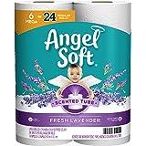 Angel Soft Toilet Paper with Fresh Lavender Scent, 6 Mega Rolls=24 Regular Rolls, 390+ 2-Ply Sheets