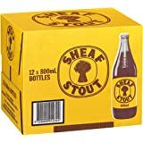 Sheaf Stout Beer Case 12 x 750mL Bottles