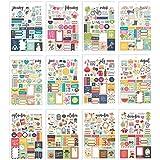 Simple Stories Seasons ステッカー タブレット カーペ Diem