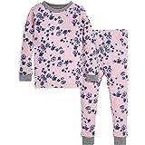 Burt's Bees Baby Baby Girl's Pajamas, Tee and Pant 2-Piece Pj Set, 100% Organic Cotton