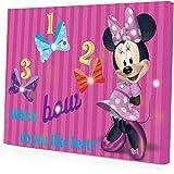 Disney Minnie Mouse LED Canvas Wall Art, 15.75-Inch x 11.5-Inch