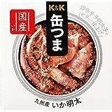 K&K 缶つま 玄界灘呼子沖 いか明太 40g
