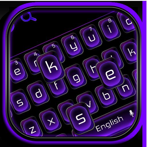 cool black purple keyboard theme amazon co jp